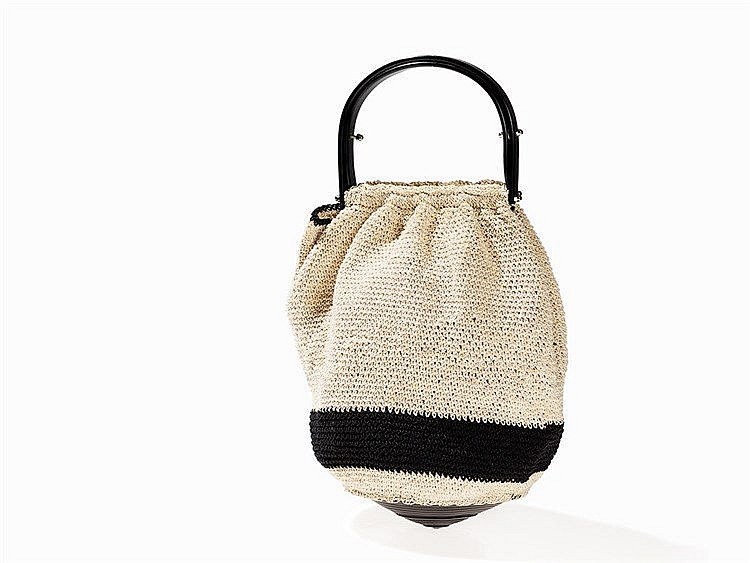 Chanel Fancy Crochet Bag, circa 2000