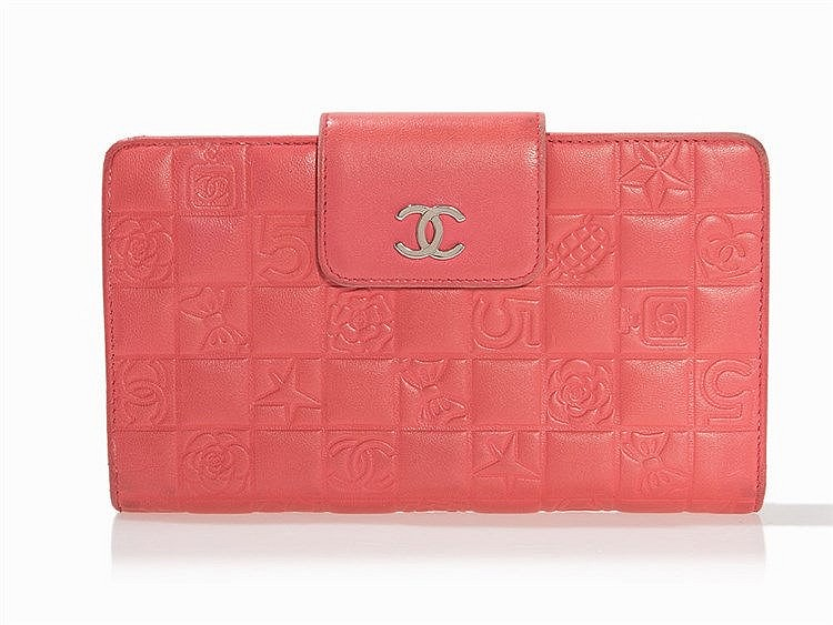 Chanel, Pink Icon Wallet, Italy, c. 2005