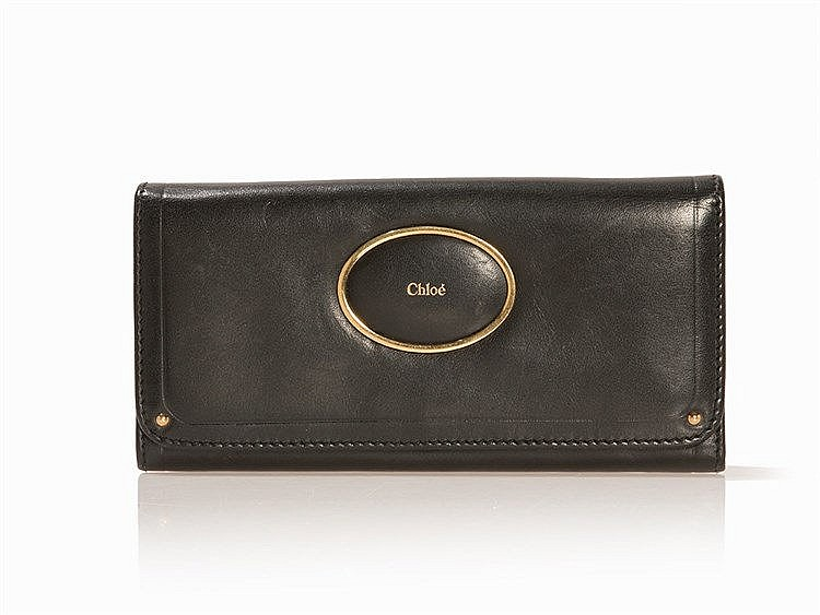 Chloé, Victoria Wallet with Front Flap, 2000s