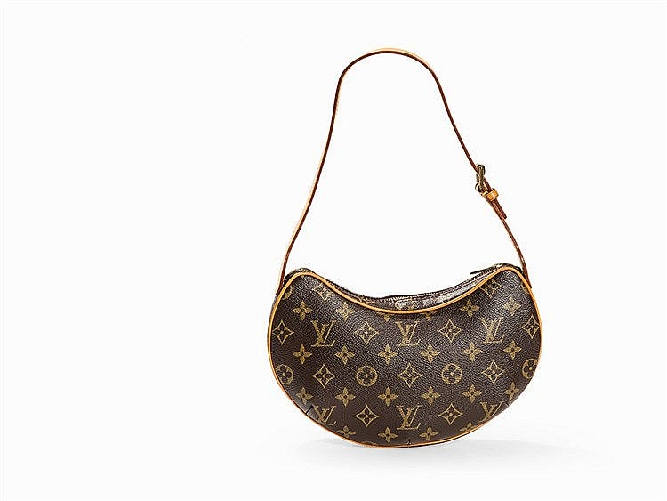 Louis Vuitton, Monogram Croissant PM, France, 2002
