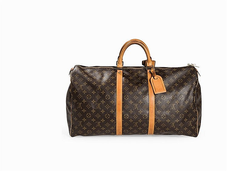 Louis Vuitton, Monogram Keepall 55, France, 1991