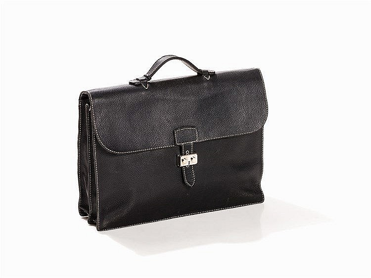 Tom Reimer, Handmade Briefcase with Lock, Germany, c. 2000