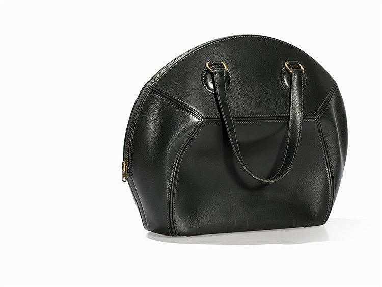 Hermès, Ile de Shiki, Leather Handbag, France, c. 1992