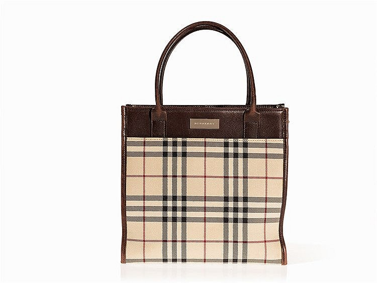 Burberry, Small Nova Check Handbag, pres. 1990s