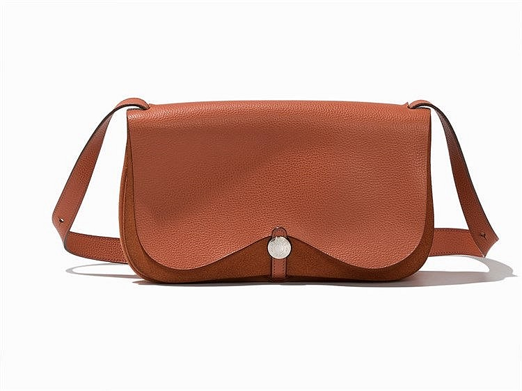 Hermés, Colorado MM, Handbag, Orange, 2005