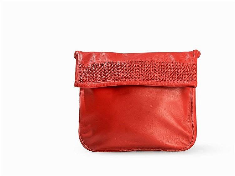 Hermès, Small Red Shoulder Flap Bag, Leather, Paris, 2008