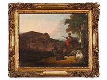 French School, 'Pastoral Landscape', 18th Century