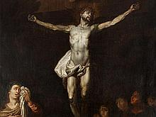 Abraham van Diepenbeeck, Circle of, 'Crucifixion', 17th Century