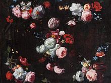 Daniel Seghers (1590-1661), Circle of, 'Garland', 17th Century