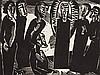 K. Schmidt-Rottluff, Kristus (Christus) unter den Frauen, 1919, Karl Schmidt-Rottluff, €1,700