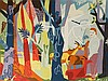 In The Forest, Tapestry after Heinrich Campendonk,1980, Heinrich Campendonk, €2,000
