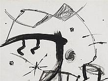 Joan Miró (1893-1983), Festa Major, PreliminaryDrawing, 1978