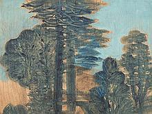 Hans Christof Drexel (1886-1979), Boscage, Painting, c. 1950