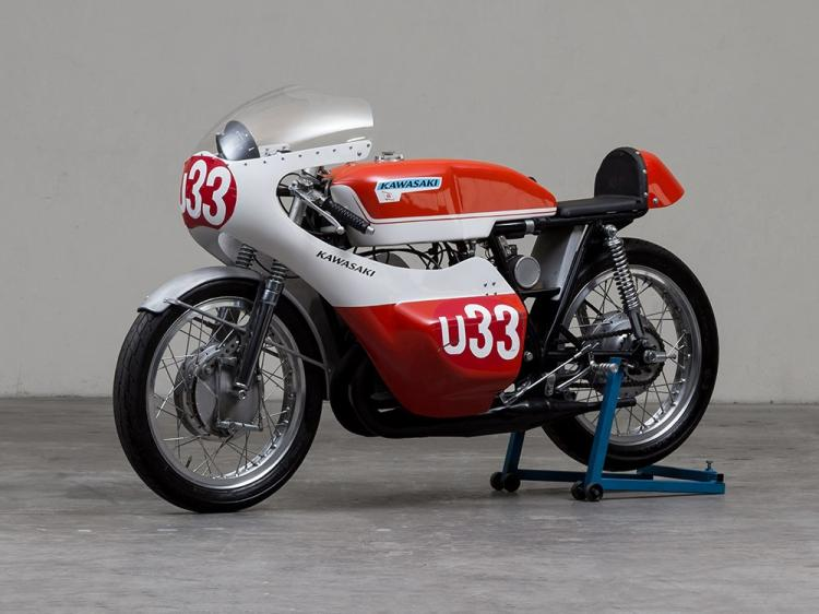 Kawasaki A1-R 250 Racing, Model Year 1967