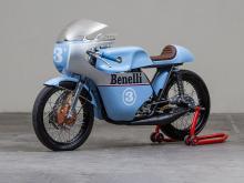 Benelli 250 Racing Motorcycle, Replica of the Original, 1968