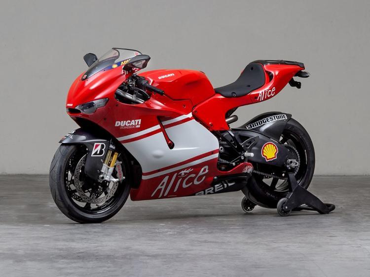 Ducati Desmosedici RR, Model Year 2009