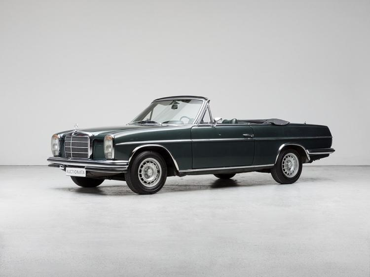 Mercedes-Benz 250 E/8 Cabriolet, Model Year 1972