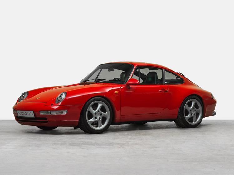 Porsche 911 Carrera 4, Type 964 Conversion to Type 993, 1990