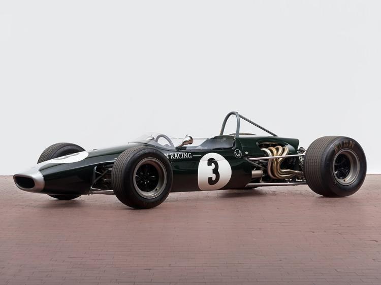 Brabham Formula 2 Racing Car of Jochen Rindt, Model 1967