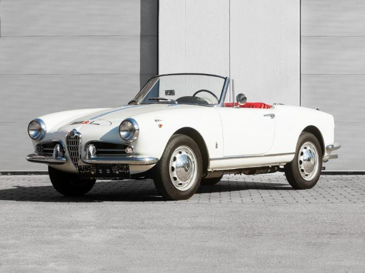 Alfa Romeo Giulietta Spider, Model Year 1959