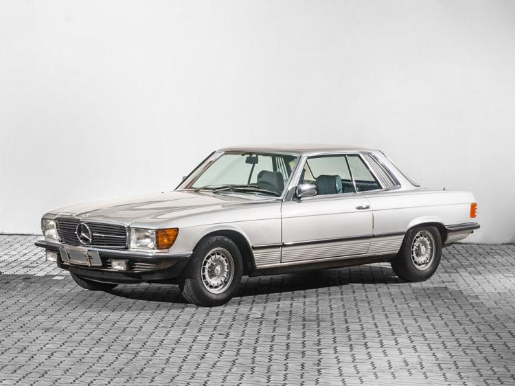 Mercedes-Benz 450 SLC, W107, Model Year 1980