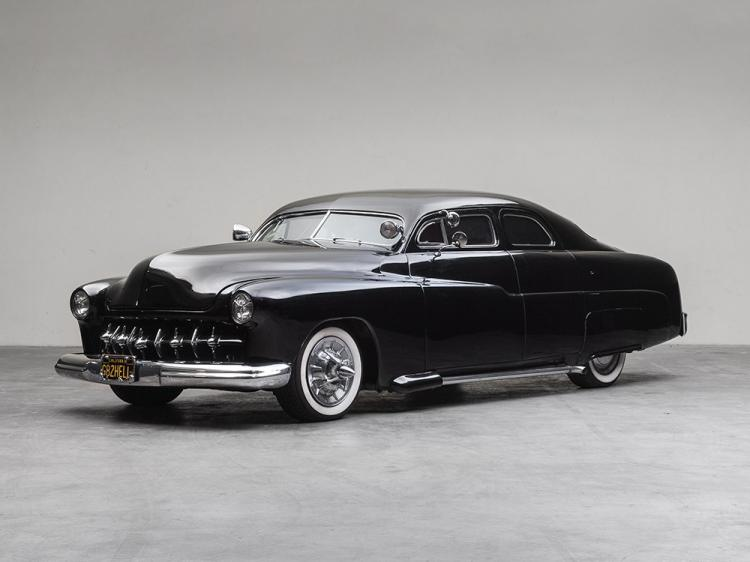 "Mercury M74 Sport Sedan Custom ""Leadsled"" Devil, M. Year 1951"