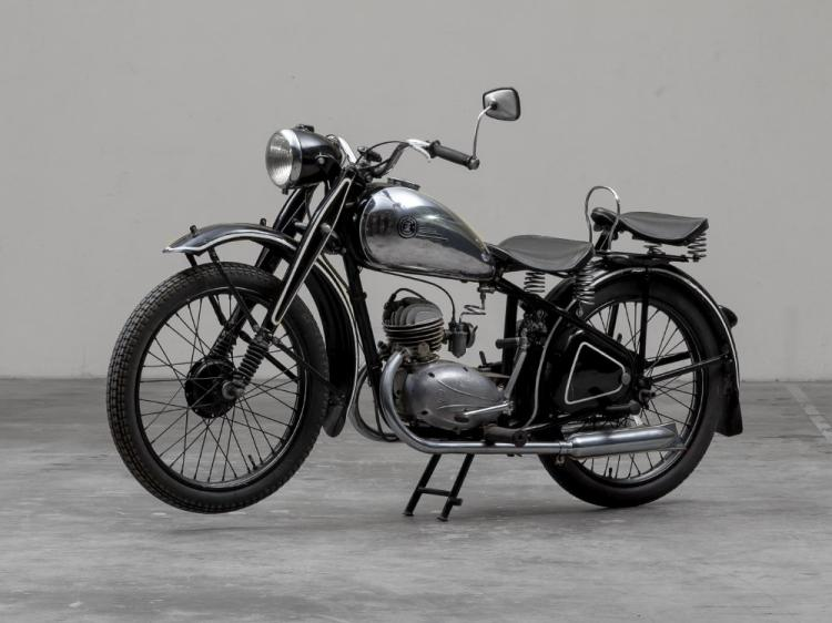 CZ 125 A, Model Year 1947