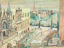 Paul Kuhfuss (1883-1960), View of San Giorgio Maggiore