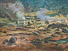 Ernst Huber (1895-1960), House in the Mountains, around 1950