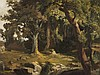 Edmund Friedrich Kanoldt, Forest Landscape, Oil, around 1900, Edmund Friedrich Kanoldt, €3,400