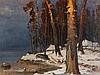 Julius von Klever (1850-1924), Winter at Lake Peipus, Oil, 1908, Julij Jul'evič (1850) Klever, €34,000