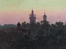 Attributed to N. Dubovskoij (1859-1918), Moscow, Oil, c. 1900
