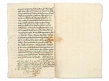 Manuscript of Maximilian I. Elector and Duke of Bavaria, 1628
