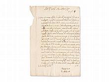 Giovanni Alfonso Borelli, Letter to Marcello Malpighi, 1664