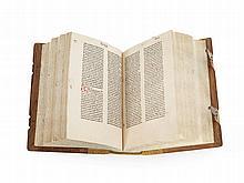 Early Incunabulum - Pseudo-Bonaventura 'Sermones', Zwolle, 1479