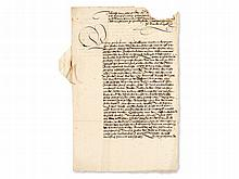 Letter from 'Little Cardinal' about Construction Financing,1534