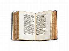Jodocus Erfordensis - Early Incunabulum 'Vocabularius', 1473/74