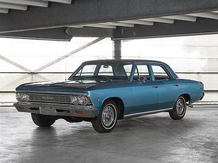 Chevelle Malibu, Model Year 1966