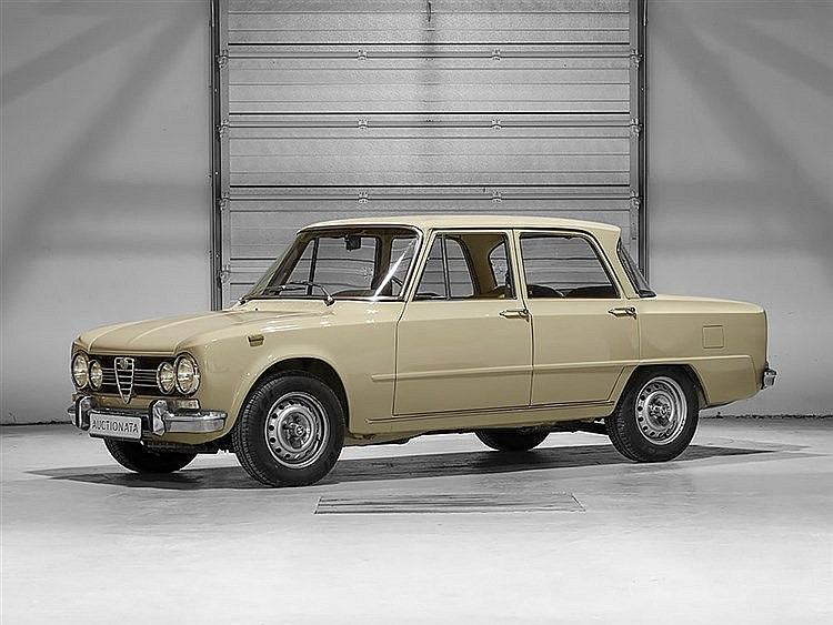 Alfa Romeo Giulia Super 1,6, Model Year 1974