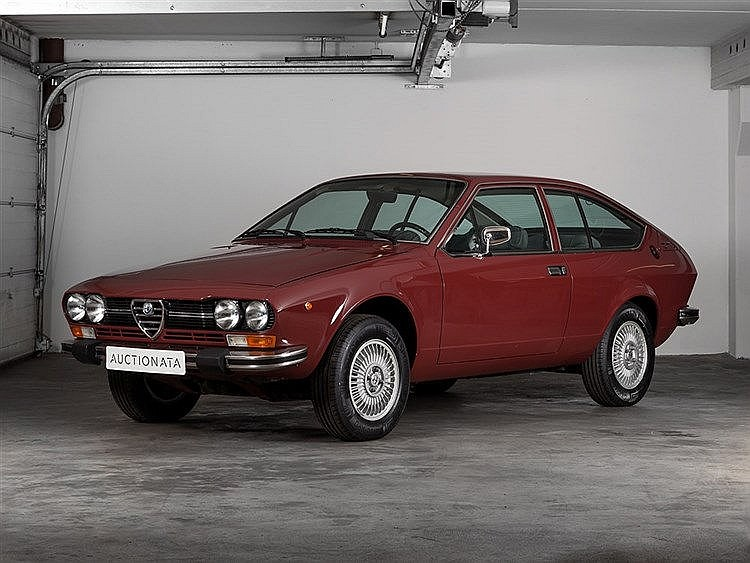 Alfa Romeo Alfetta GTV 2000 (116.36), Model Year 1976