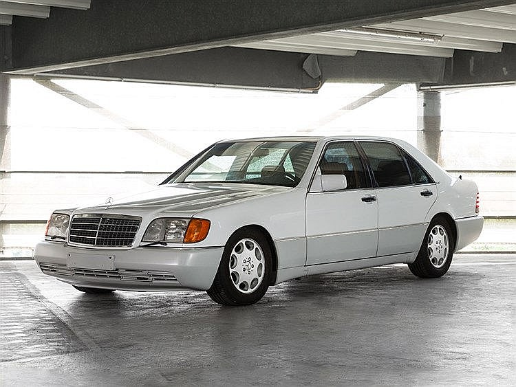 Mercedes-Benz 600SEL W140, Model Year 1992