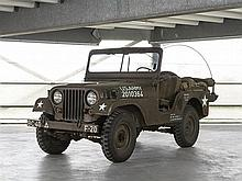 Willys-Overland, Jeep M38A1, Model Year 1955
