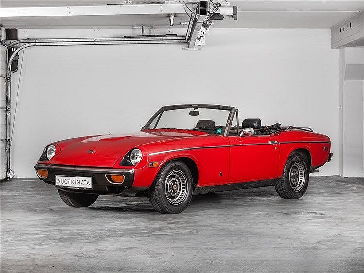 Jensen Motors, Jensen-Healey Convertible Mk II, Model Year 1974