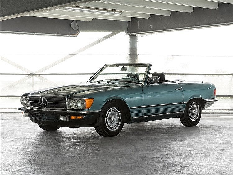 Mercedes-Benz SL 280 R107 280sl Cabrio, Model Year 1981