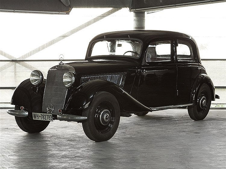 Mercedes 170V Limousine, Model Year 1938