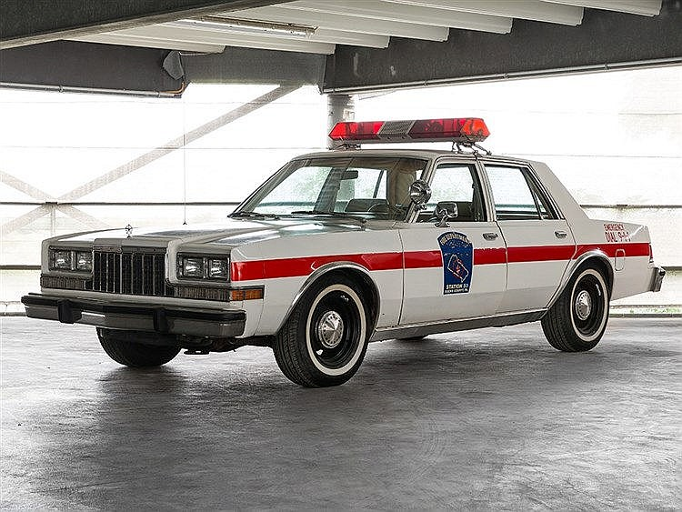 Dodge Diplomat Fire Chief, Cop Mopar, 1982