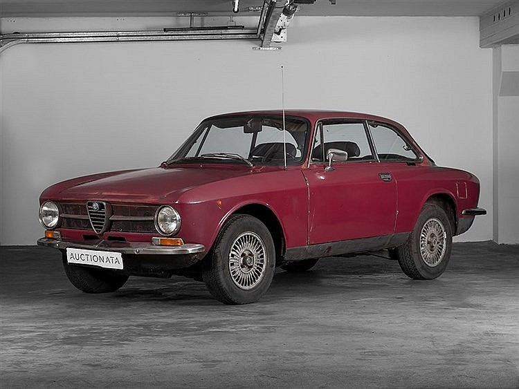 Alfa Romeo GT 1600 Junior (115.03), Model Year 1972