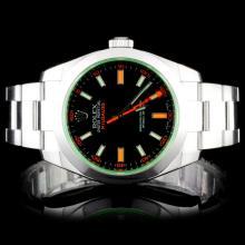 Rolex Milgauss 40MM Stainless Steel Wristwatch