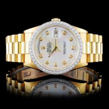 Rolex 18K Day-Date Presidential Men's Wristwatch
