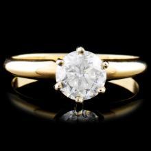14K Gold 0.78ct Diamond Ring